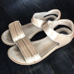 Livie & Luca Gold Sandals